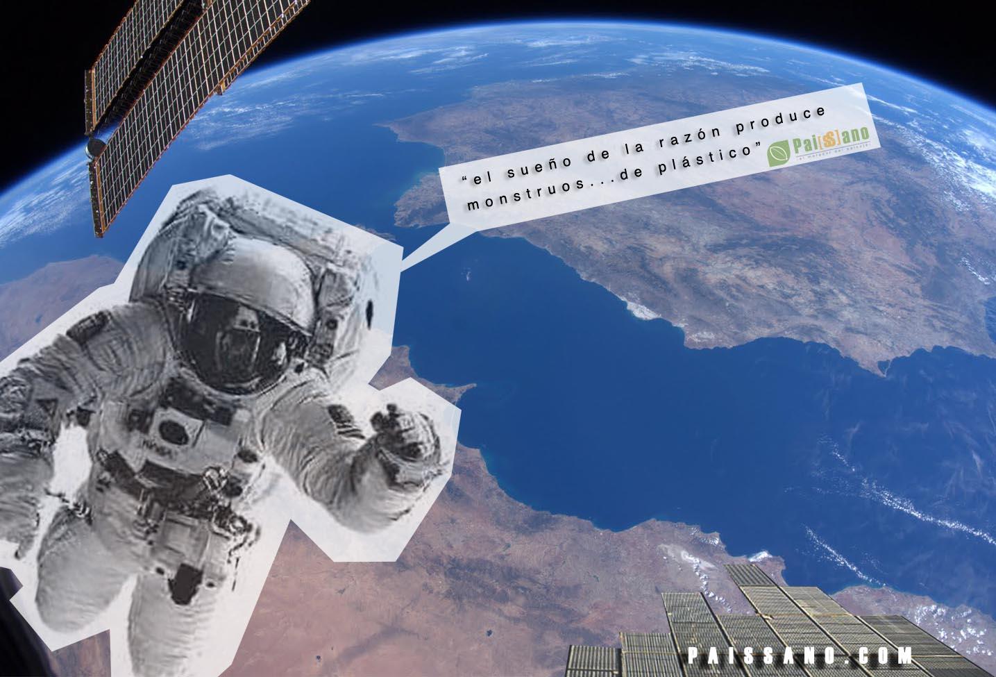 Un mar de Plástico, el paisaje desde el espacio