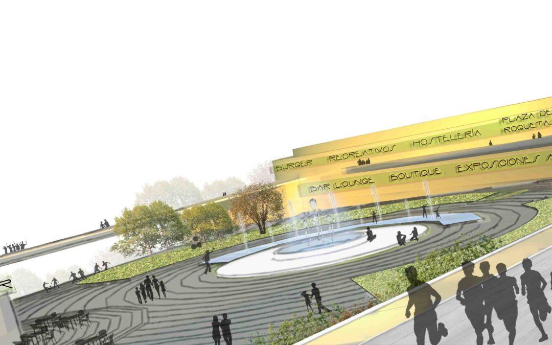 Abraza la Plaza, parque urbano en Roquetas de Mar