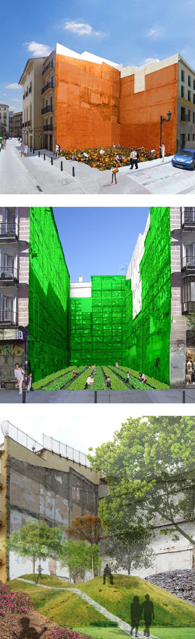 Imagina velluters huecos urbanos