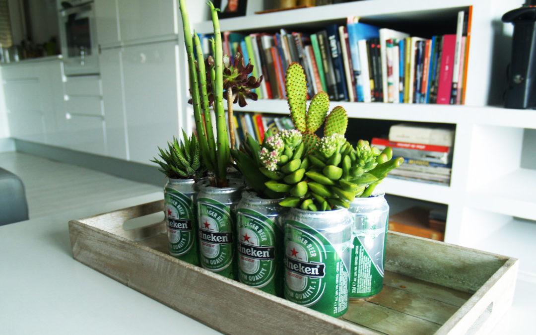 Piensa en verde creando pequeños espacios