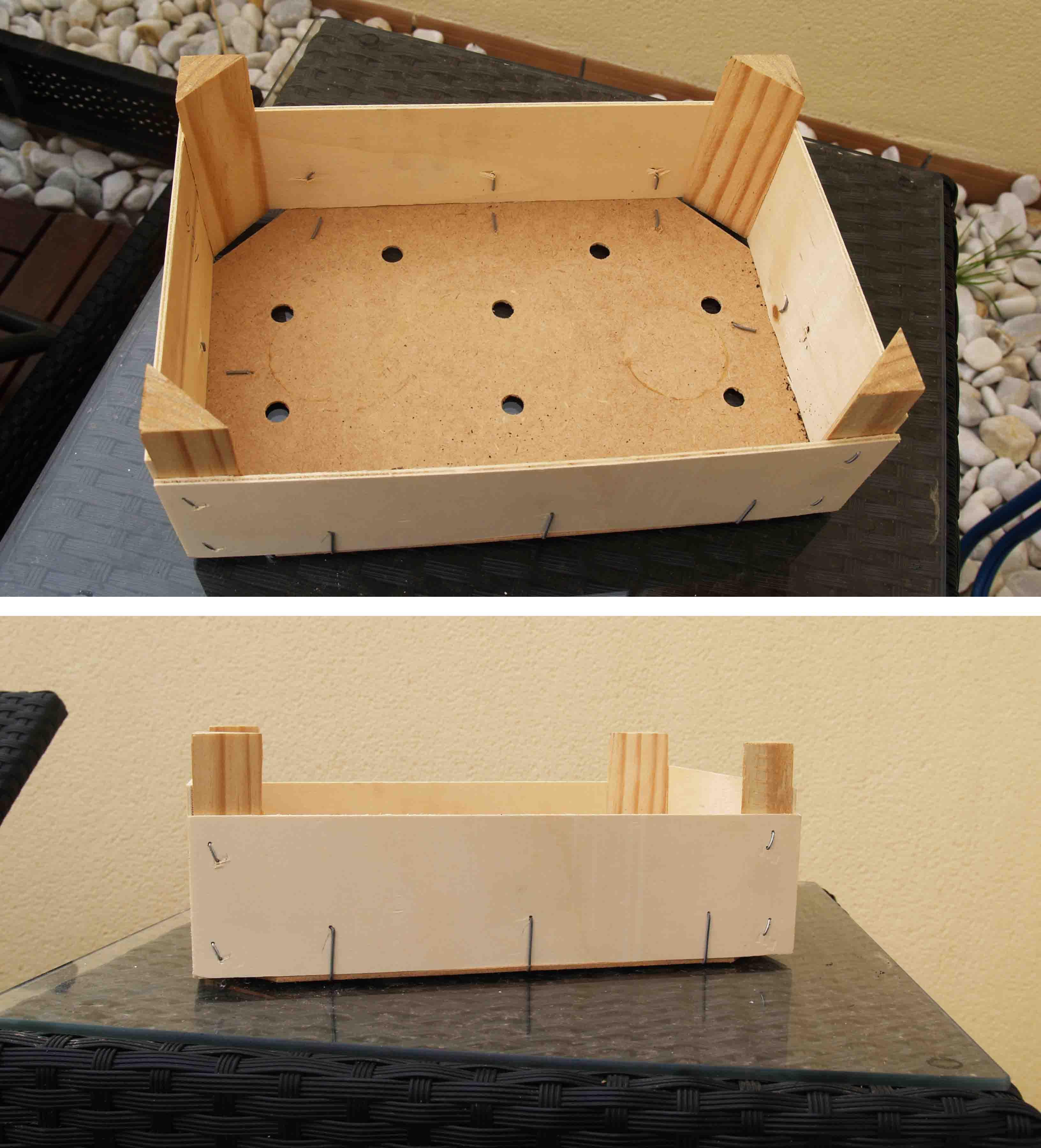 Reciclado Caja de Fresas