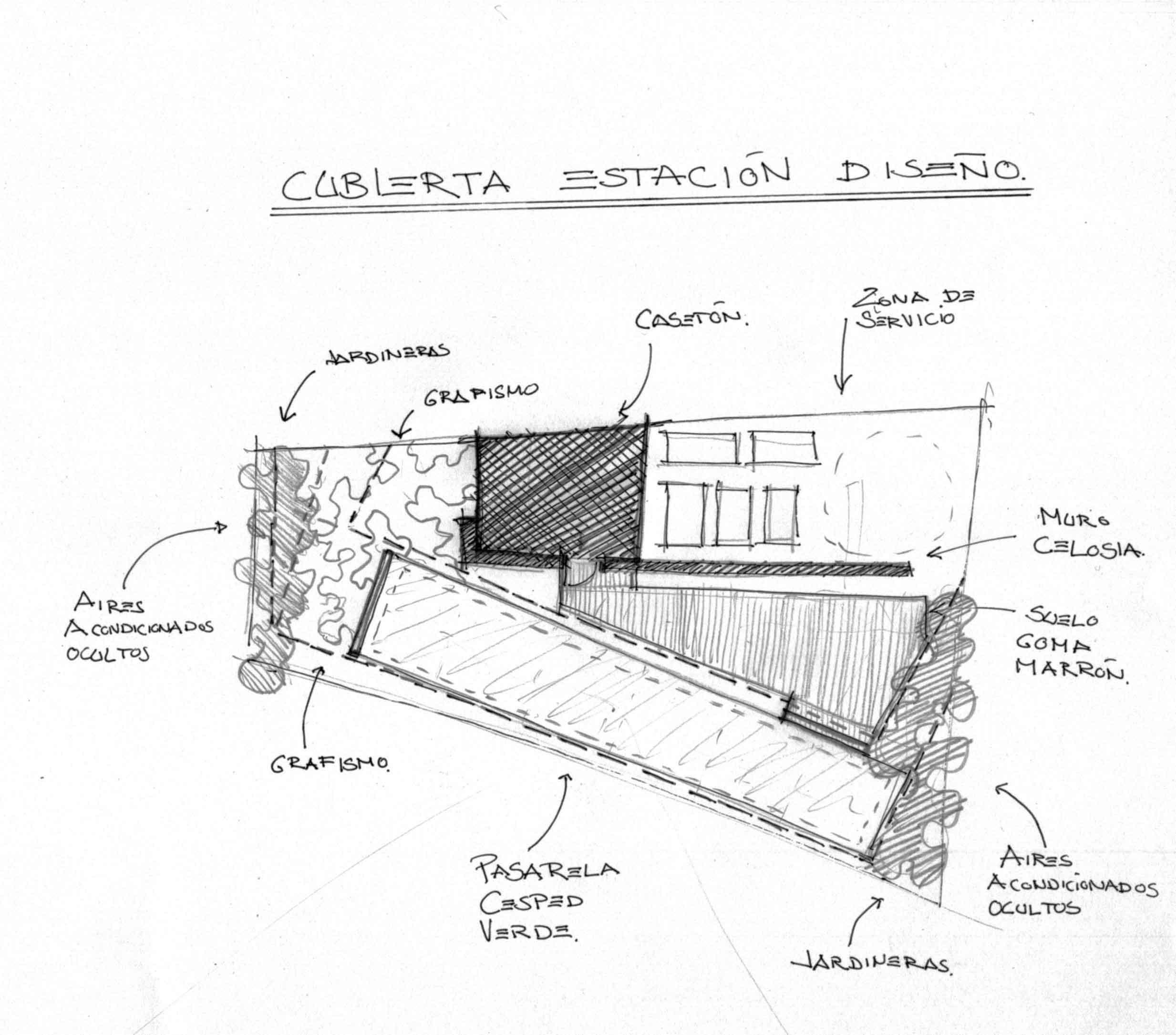 Croquis Diseño Terraza