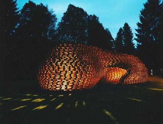 Arquitectura con Palets - Paletten Pavilion