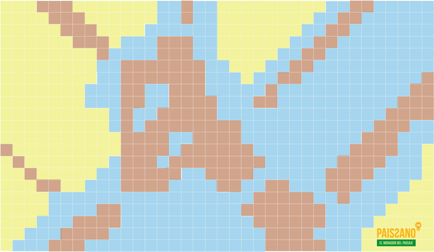 Diagrama Encuentro Rambla con Paseo de Almeria