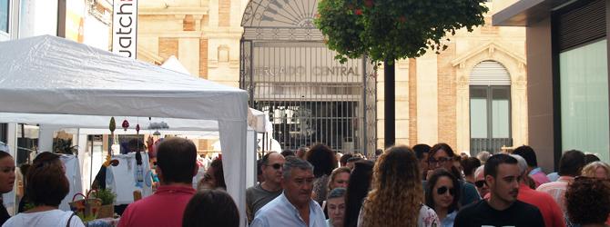 Paisajismo urbano: Alrededores de la Plaza del Mercado Almería