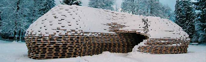 Arquitectura con Palets – Paletten Pavilion