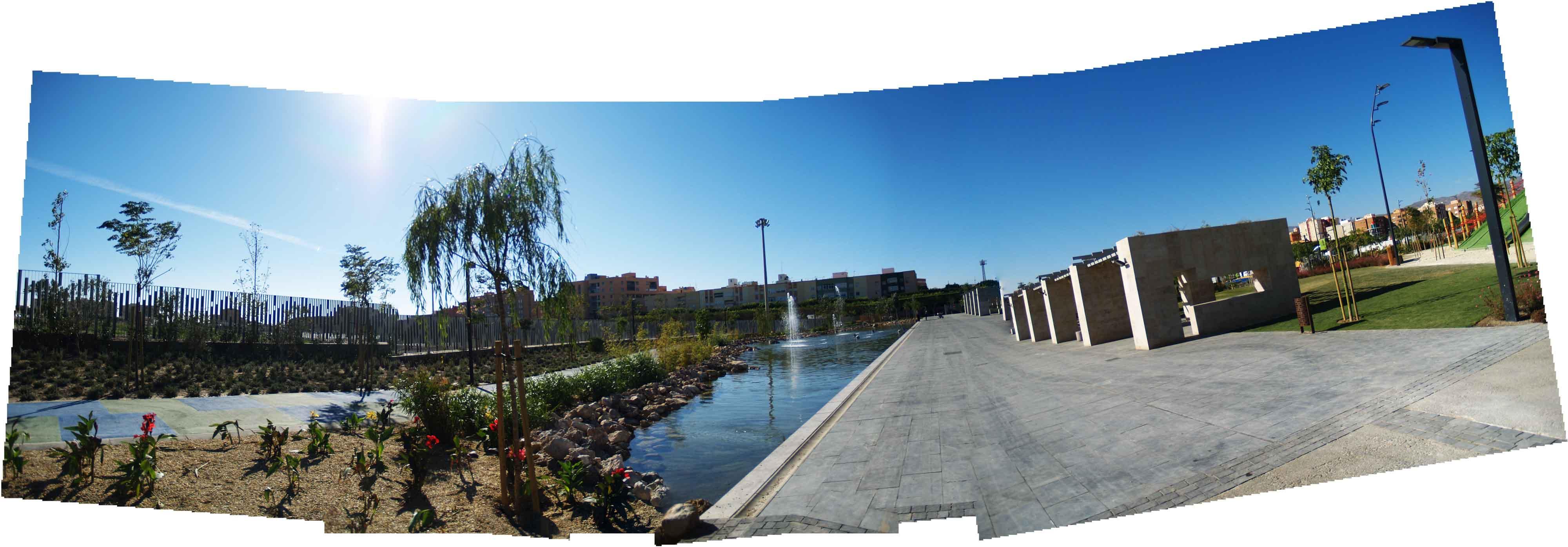 Parques y jardines - Parque de las Familias en Almería