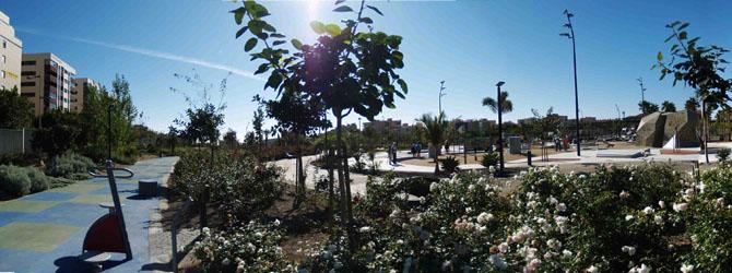 Parques y jardines –  Parque de las Familias en Almería