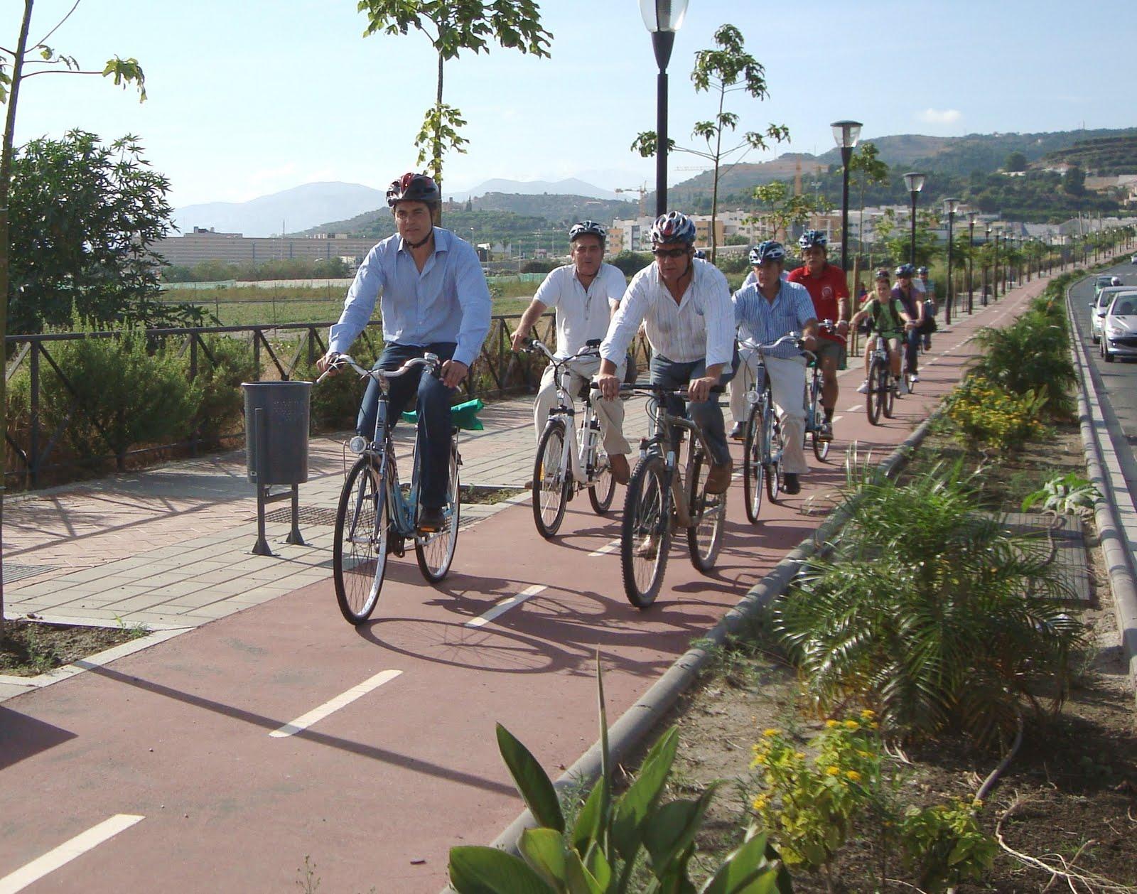 Paisajismo - Proyecto de Carril Bici en Almería