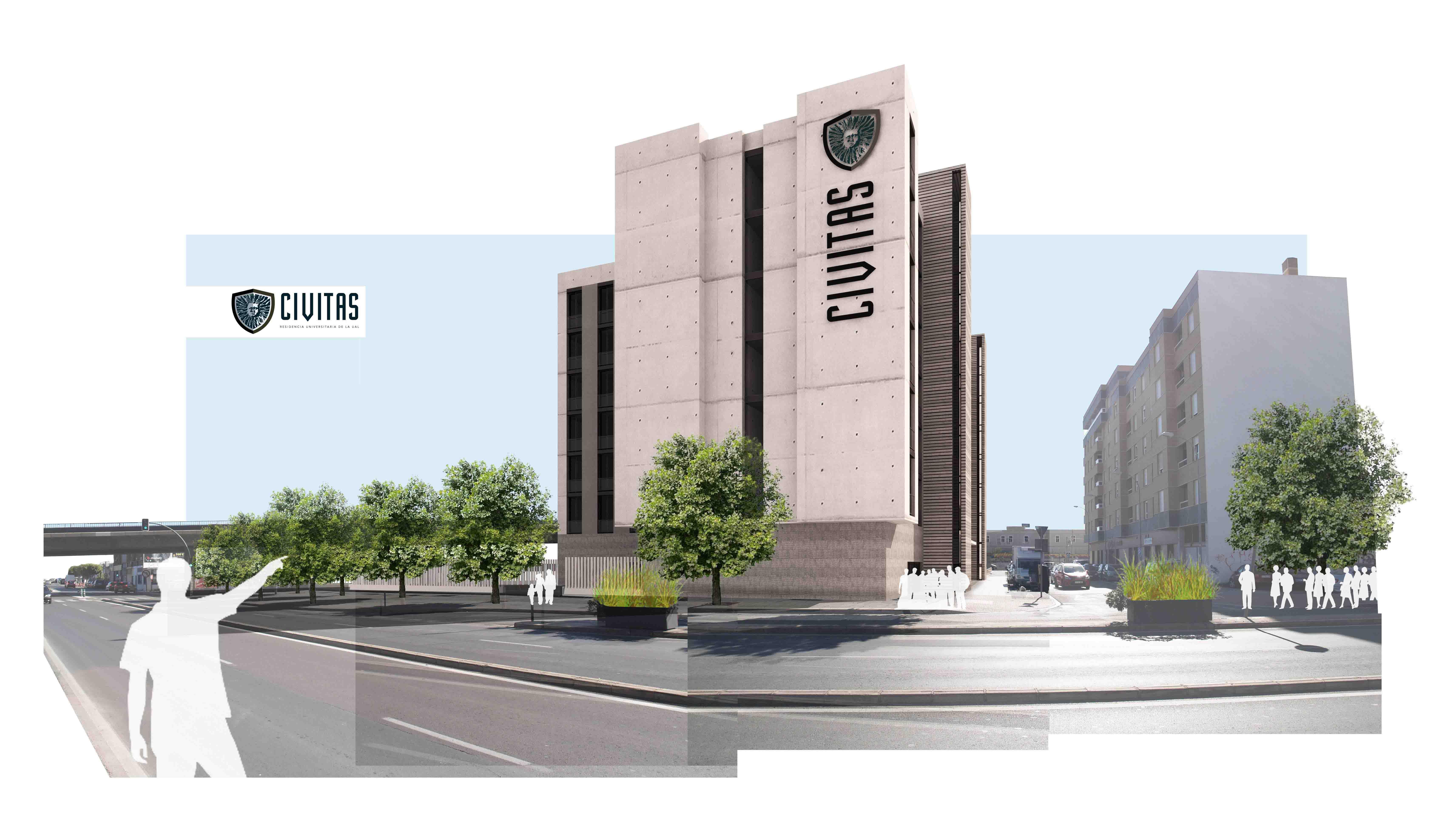 Arquitectura - Residencia Universitaria Almería CIVITAS