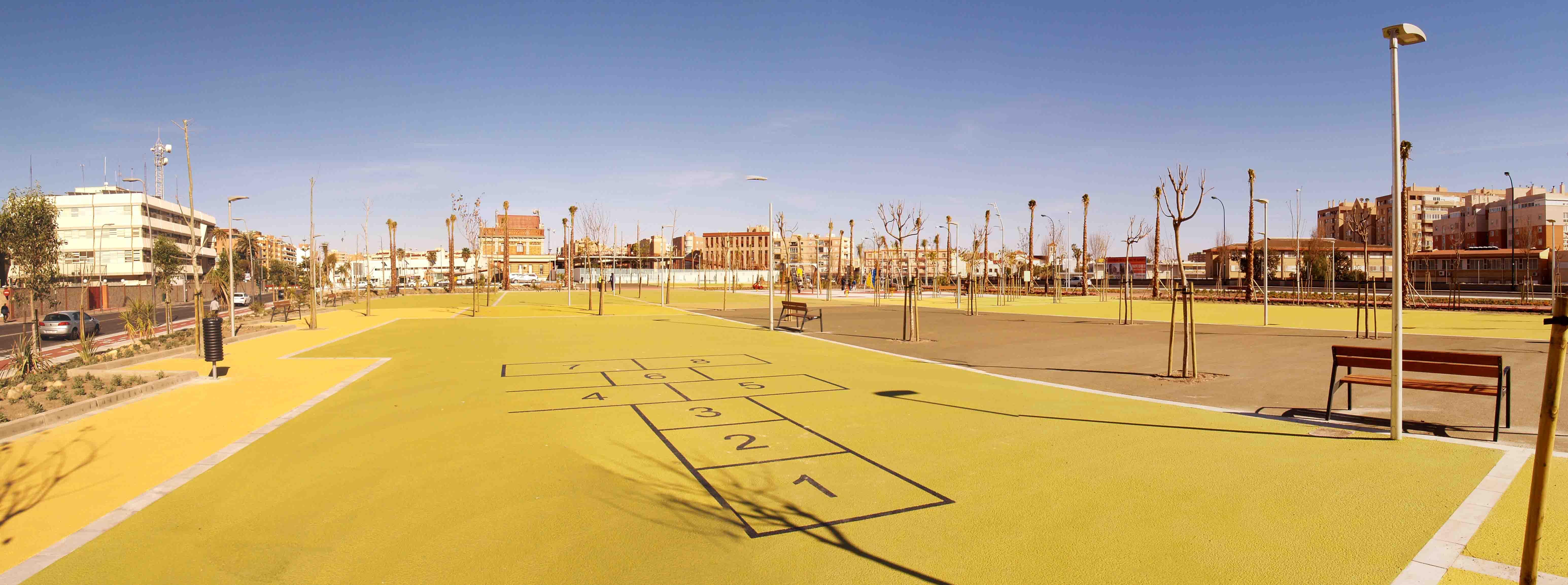 Parque de la Estación Almería