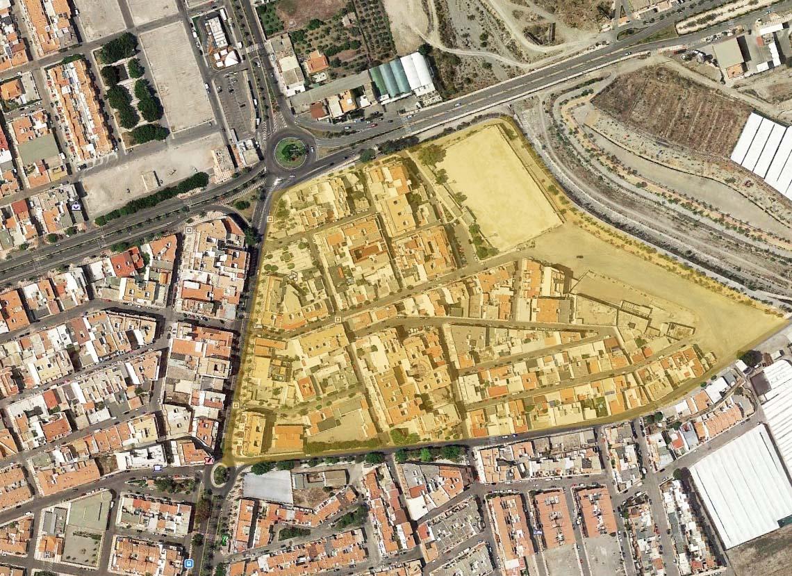 Concurso Rehabilitación Urbanística de El Parador - Almería