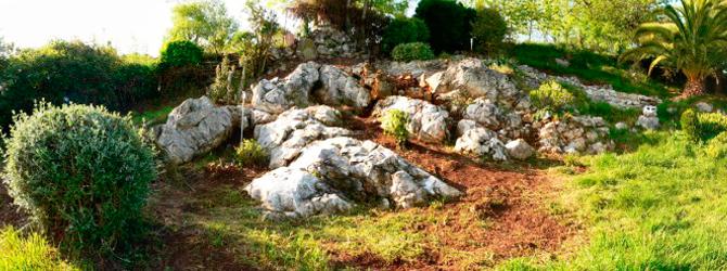 Jardín de Rocalla