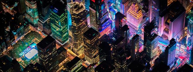 Paisaje de la ciudad de Nueva York