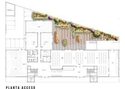 Arquitectura Contemporanea Residencia civitas Almería Diseño de Jardines