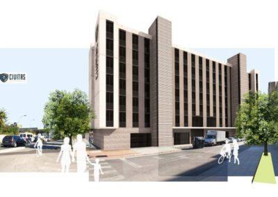 Arquitectura Contemporanea Residencia civitas Almería Edificio Singular