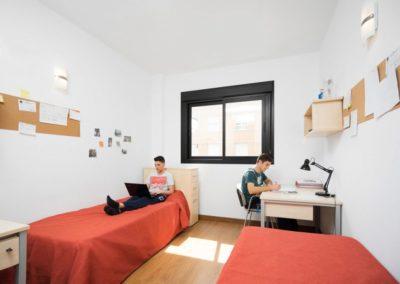 Arquitectura Contemporanea Residencia civitas Almería Habitaciones