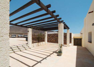 Arquitectura y Paisajismo Almería Pergola exterior