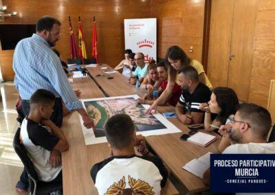 PROCESO PARTICIPATIVO CONCEJAL PARQUES