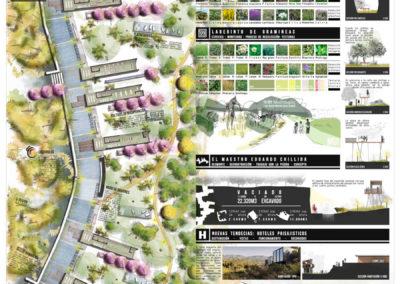 Diseño Gráficos y Láminas de Arquitectura y paisajismo