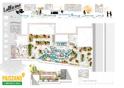 Diseño Gráficos y Láminas de Arquitectura y paisajismo Aquitectura
