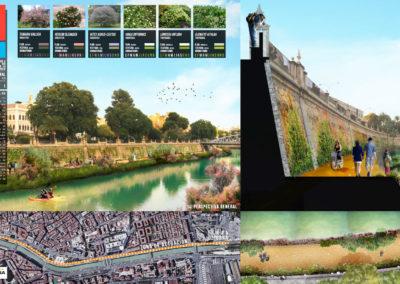 Diseño Gráficos y Láminas de Arquitectura y paisajismo Murcia