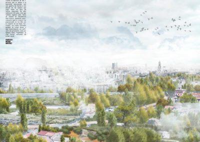 Diseño Gráficos y Láminas de Arquitectura y paisajismo Murcia rio