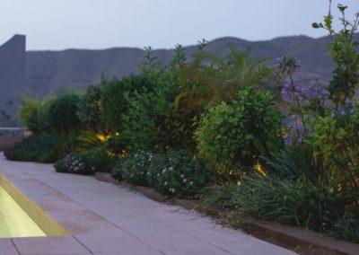 Diseño de jardines y piscinas Almería estudio de arquitectura