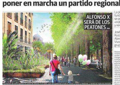 Estudio de arquitectura y paisajismo Almería Alfonso X Murcia