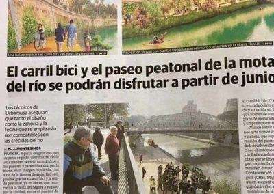Estudio de arquitectura y paisajismo Almería Rio Segura y Murcia rio