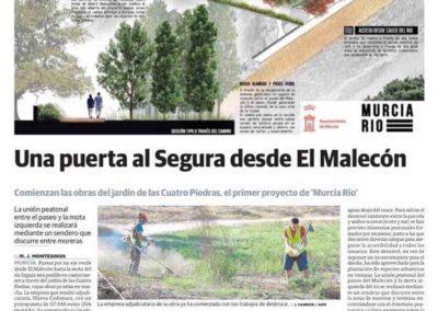 Estudio de arquitectura y paisajismo Almería cuatro piedras en Murcia Rio