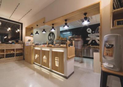 Interiorismo Nórdico Cafetería Civitas Almería