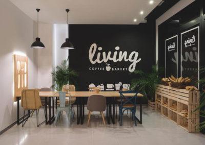 Interiorismo Nórdico Cafetería Civitas Almería Diseño Interiores