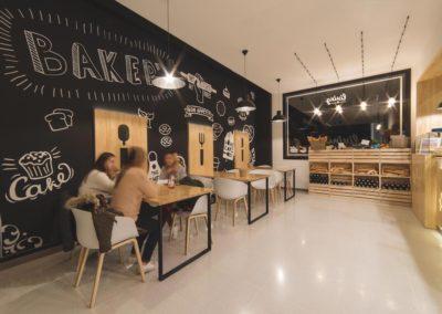 Interiorismo Nórdico Cafetería Civitas Almería Mobiliario
