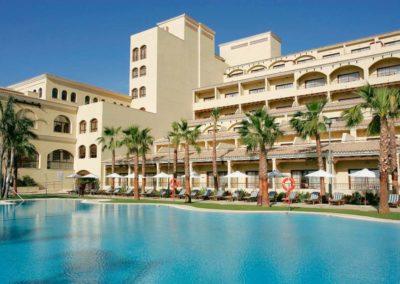 La Envia Golf Arquitectura Almería Piscina