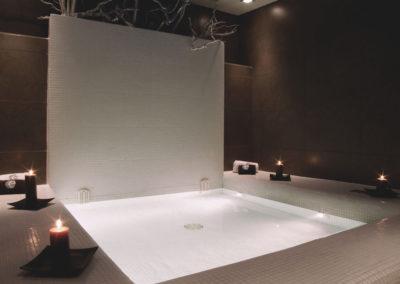 Proyecto interiorismo Spa Envia Golf Almería Sauna
