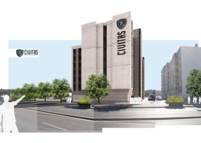 Render 3D Almería estudio de arquitectura