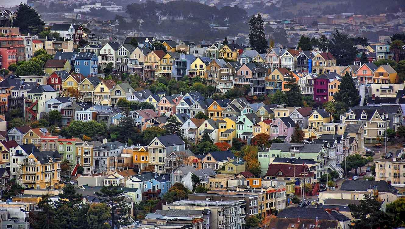 paisaje urbano perspectiva ciudad