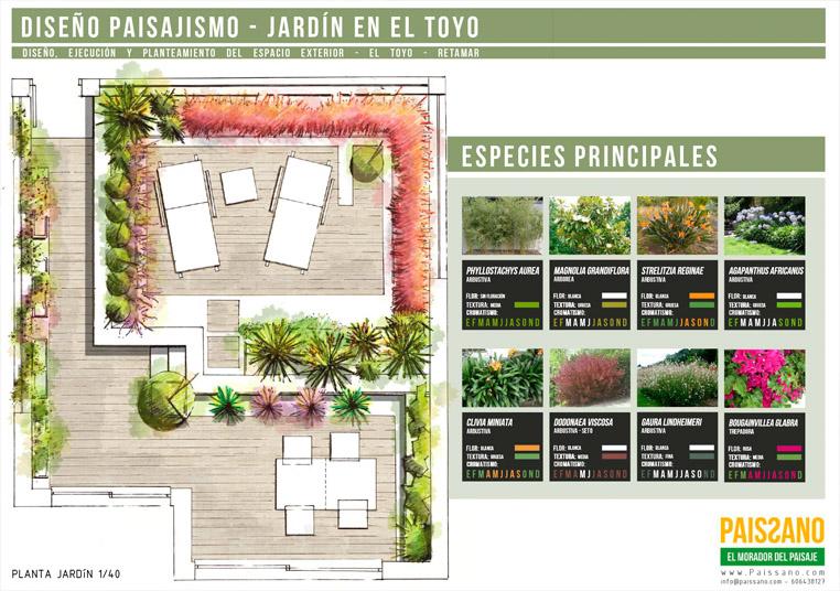 Diseño Terrazas Y Jardines Almeria Paissano Arquitecto