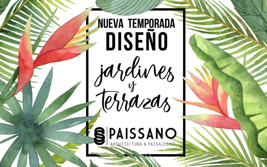 Temporada de Diseño de Jardines en Almería 2018