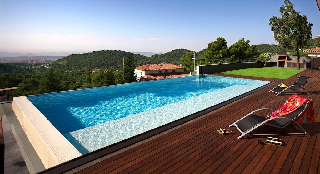 piscinas desbordantes para nuestro jard n o terraza