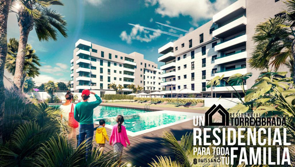 El residencial TORREQUEBRADA es un espacio diseñado para toda la familia