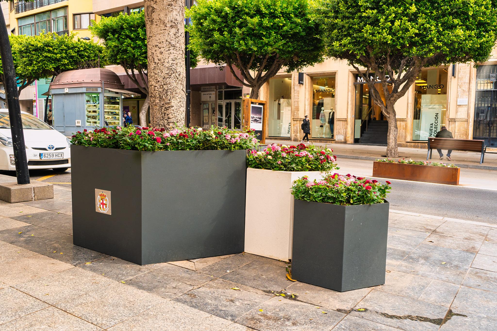 Proyecto de paisajismo en Almería