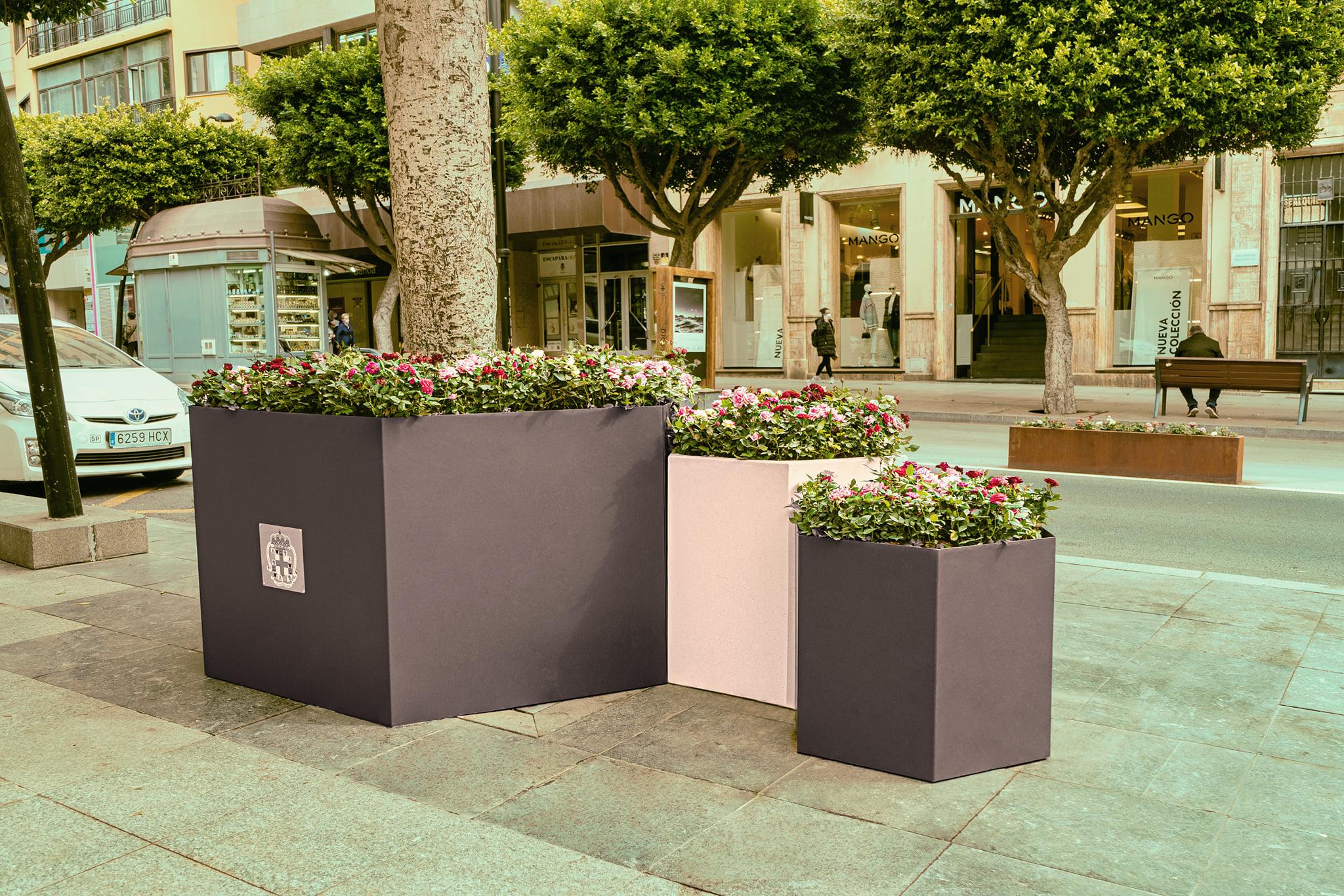 Proyecto de paisajismo urbano en Almería